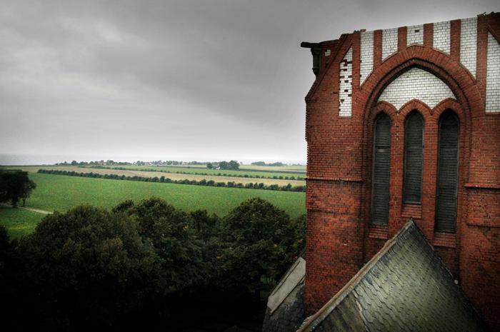Rivning av Maglarps nya kyrka. BestŠllare: Per …sterman  Foto:Jonatan Jacobson